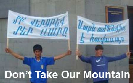 Armenian Mountain Owners Protest