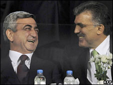 Two presidents share latest anecdotes on Georgians during the game
