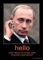 Putin cell phone Orange Operatiors